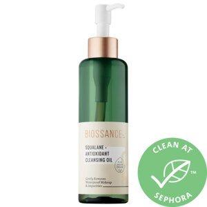 Squalane + Antioxidant Cleansing Oil - Biossance | Sephora