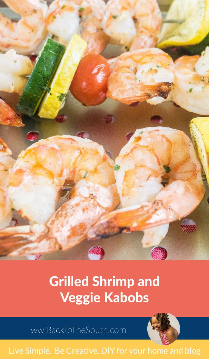 Need a delicious and super easy to make grilled dinner? You got it, this Grilled Shrimp and Veggies Kabobs is absolutely delicious and flavorful. You gotta try this!