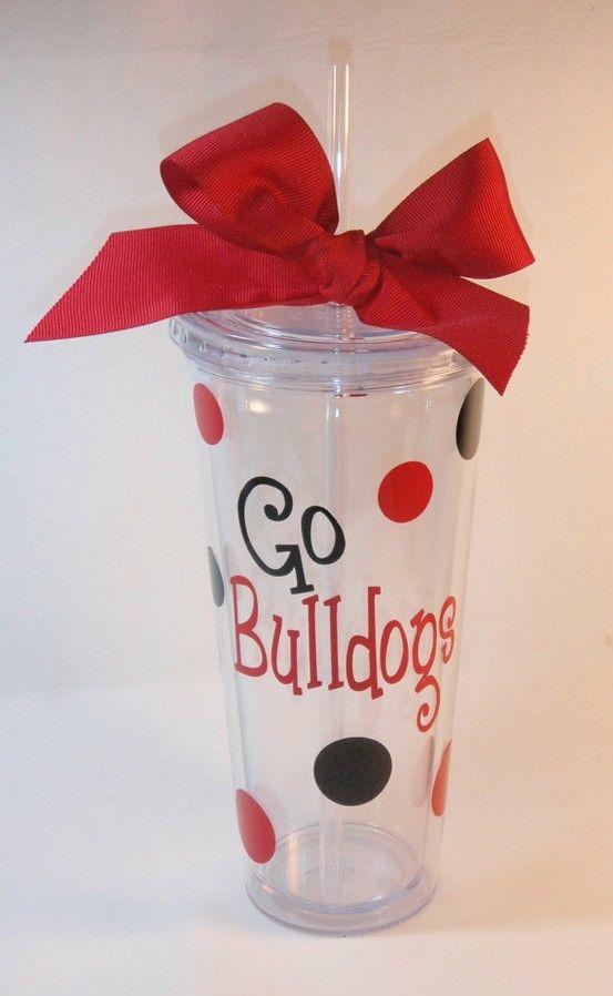 diy cheerleader gift ideas | Cute Cheer Gifts…..Personalized Team Tumbler by GameDayGirlsandGifts ...