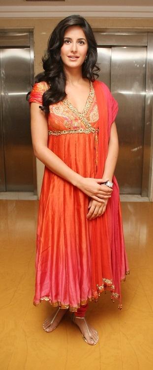 Gorgeous - Katrina Kaif in shaded #LongAnarkali