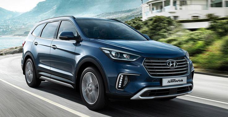 Grand Santa Fe. Hyundai Grand Santa Fe 2017 новый кузов
