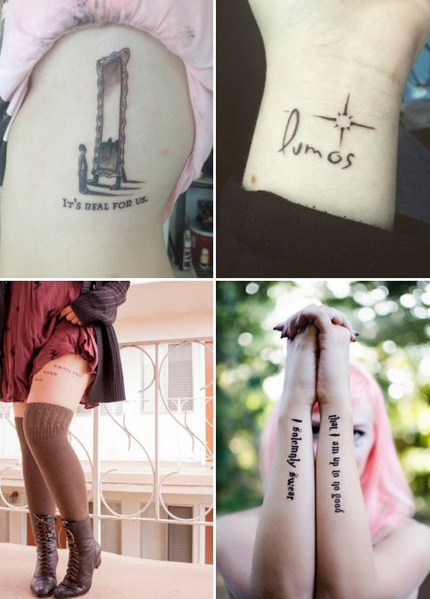 30 Of The Most Insane Harry Potter Tattoos That Will Make You Want To Get Inked