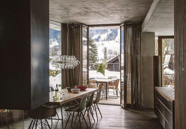 Avusturya'da bir dağ evi