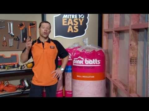 How to Install Wall Insulation | Mitre 10 Easy As