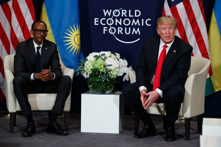 FOX NEWS: The Latest: Trump calls Rwandan President Kagame a 'friend'