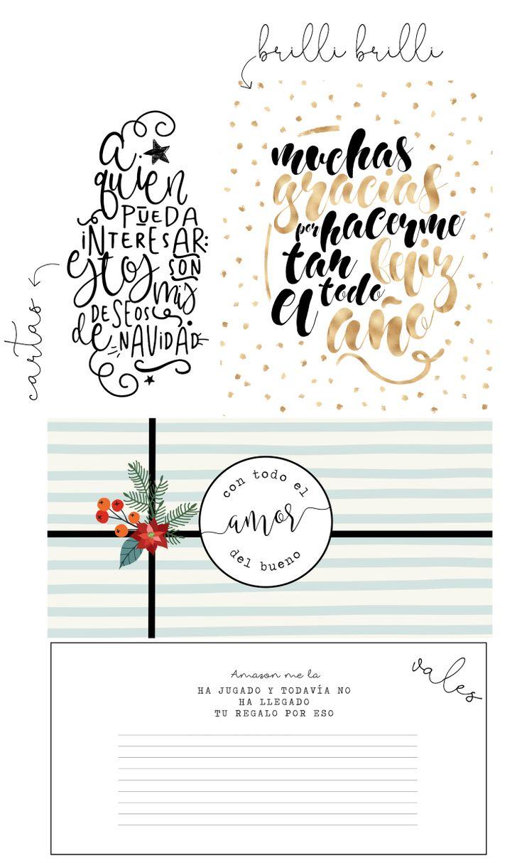 Creative Mindly: Mini clase: aprende a hacer diseños navideños digitales e imprimibles