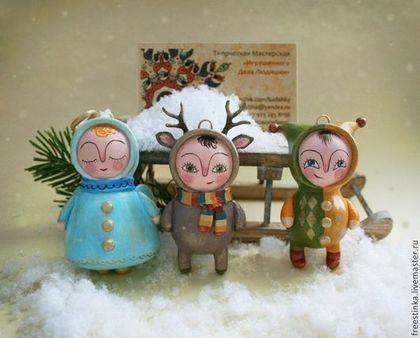 Ёлочная игрушка - елочные игрушки,елочные украшения,елочная игрушка,елочное украшение