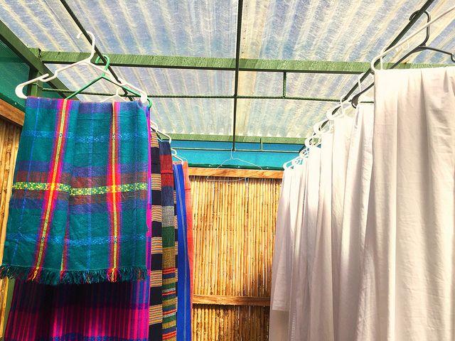 The solar dryer at Arbol De Fuego Eco-Hotel in San Salvador, El Salvador