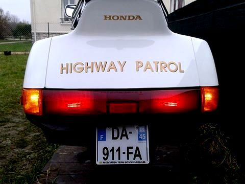 honda pacific coast california highway patrol - chips