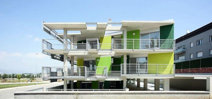 Santa Eugenia de Berga Social Housing / BailoRull ADD+ Arquitectura