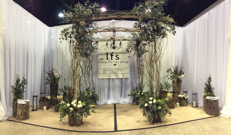 Our booth at the Wonderful Wedding Show