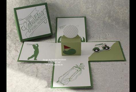 Eine tolle Geschenkbox, man nimmt den Deckel ab und die Box springt auf, ein toller Effekt, den bis jetzt jeden begeistert hat!  Mal ein anderer Gutschein der etwas mehr hermacht als eine einfache...