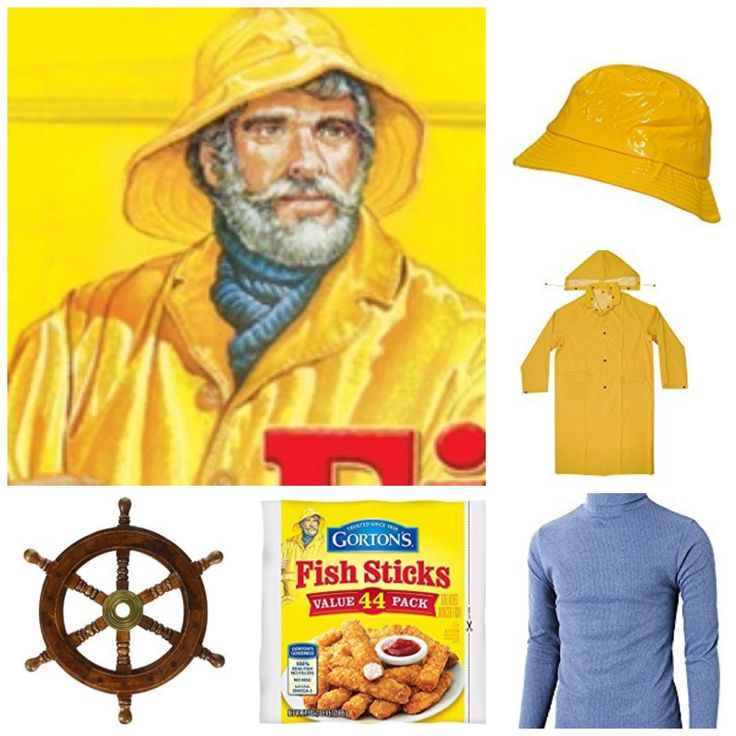 Gorton's Fisherman Halloween Costume