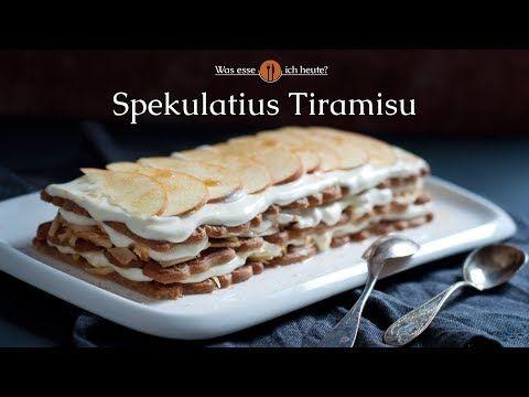Weihnachtliches Spekulatius-Tiramisu - Was esse ich Heute?