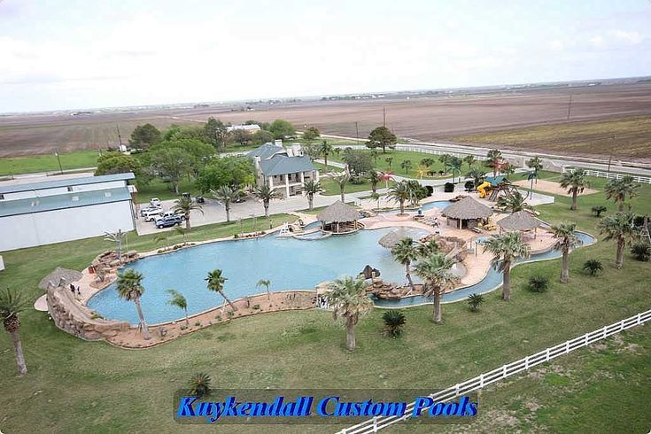 Largest Pool In Texas El Campo Largest Residential Swimming Pool Built Bykuykendall Custom