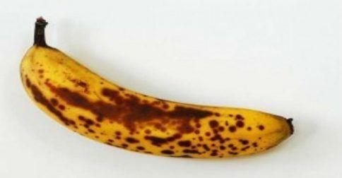 Μάθετε τι συμβαίνει στο σώμα σας όταν καταναλώνετε ώριμες μπανάνες με μαύρα στίγματα!!