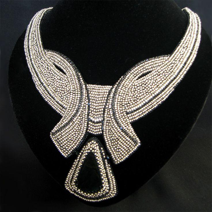 Bead jewelry by Inga Sampoeva