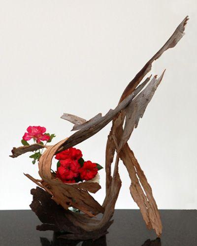 Flower Arrangement Using Driftwood: 4187 Best Images About Ikebana On Pinterest