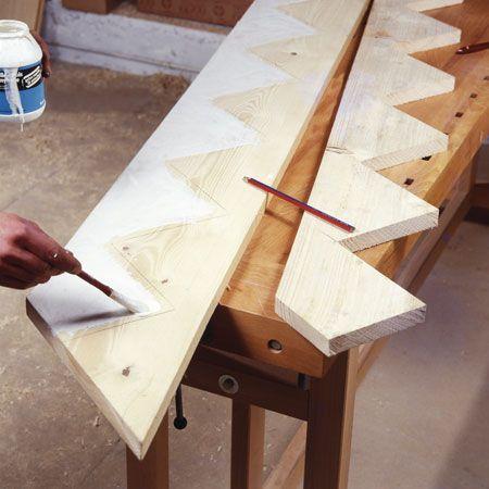 Comment fabriquer un escalier d'extérieur en bois?