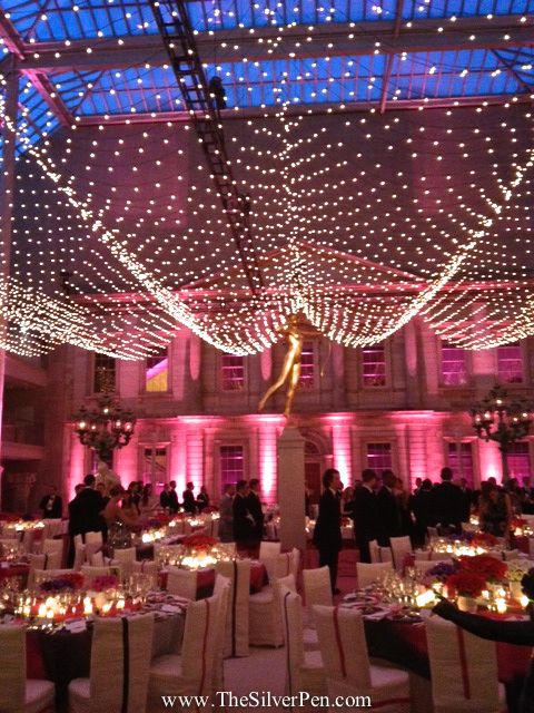 Met Gala Event dining room, May 2013