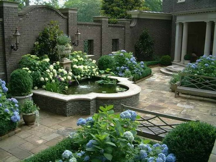 Image result for raised pond waterfall ideas