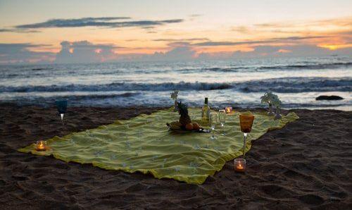 Пикник на пляже Шри-ланки