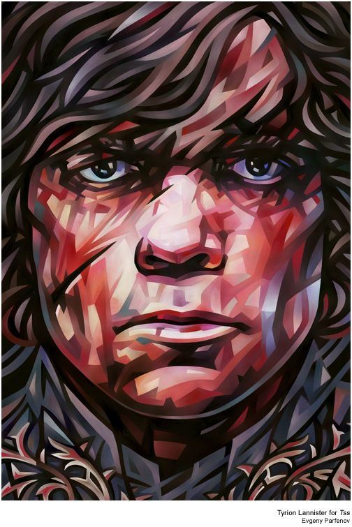 Tyrion Lannister by Evgeny Parfenov