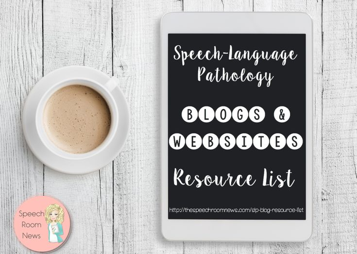 SLP Blogs & Resource List. All current SLP blogs and websites in one list!
