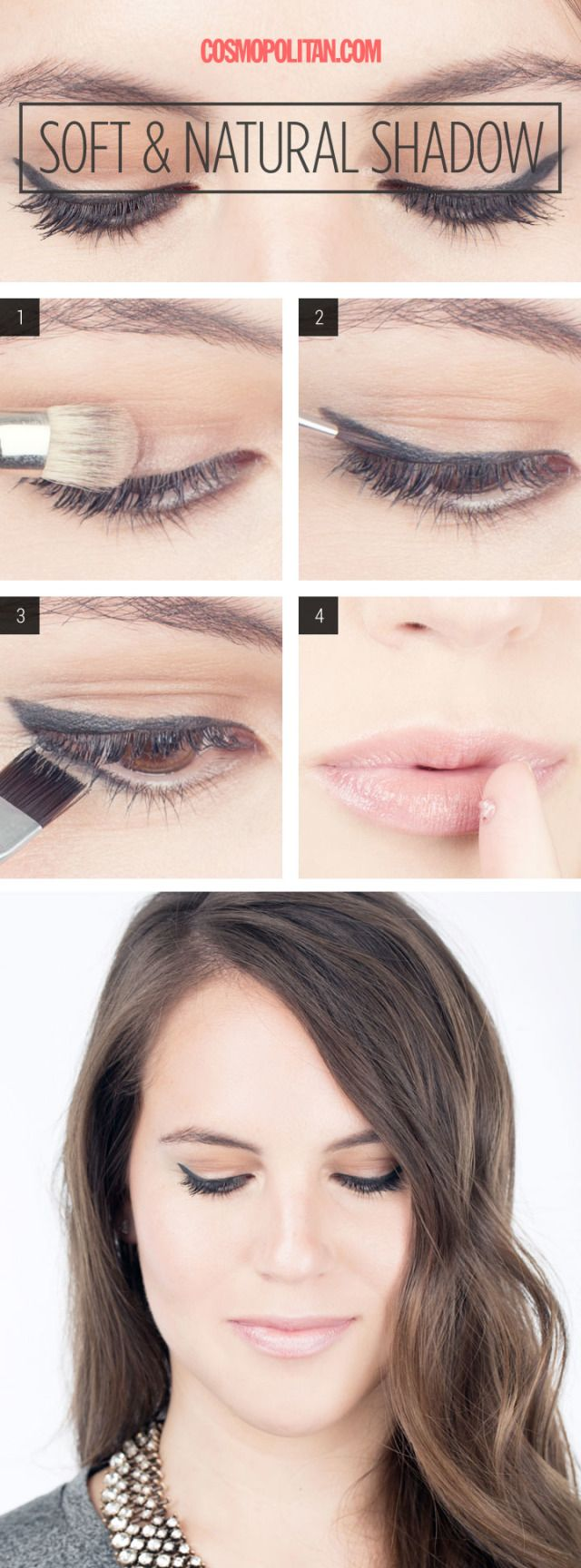 Makeup How-To: Soft and Natural Eyeshadow - This is an everyday look you're going to want to recreate.