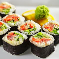 Sushi can be a great way to get nutrients, but some rolls are loaded with calories, simple carbs, and sodium. Learn which menu items are healthy and which aren't.
