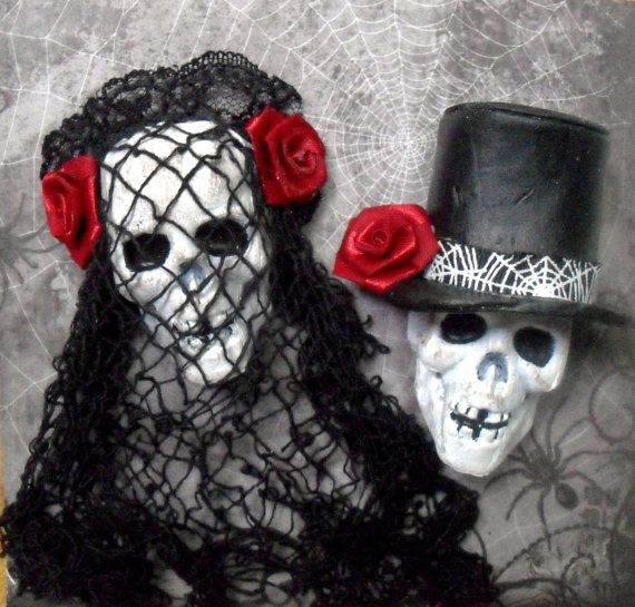My Spooky Valentine by julia chibatar on Etsy