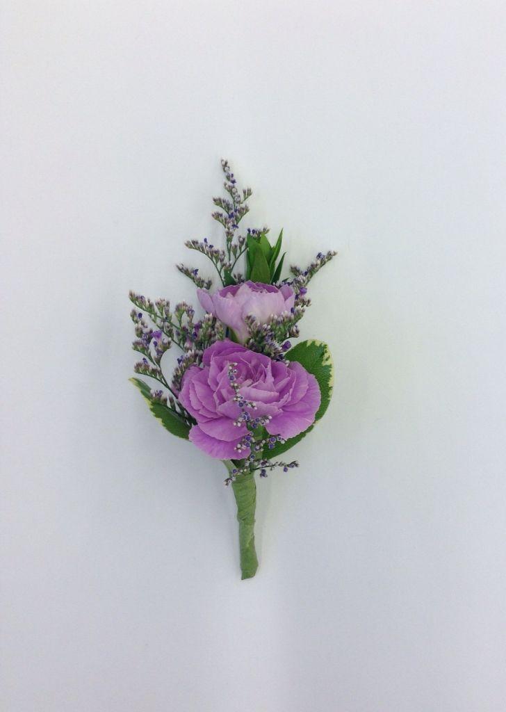 lavender boutonniere-#26