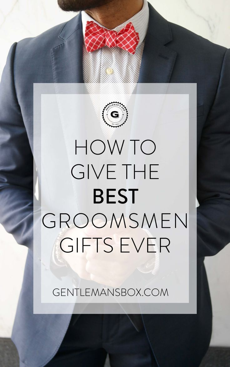 Give your groomsmen the gifts they actually want. We spill the secret to creating the perfect groomsmen gifts.
