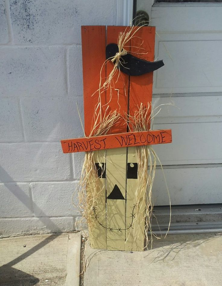 I Can Do This From Some Pallets Fall Decor Pinterest Pumpkins Happy And Tes