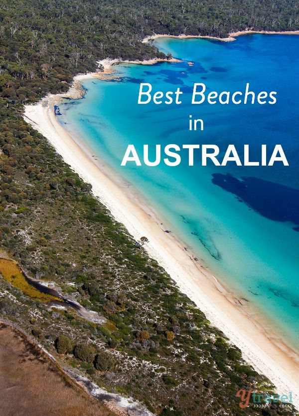 Australia on your bucket list? Check out this list of 38 beaches you must see!