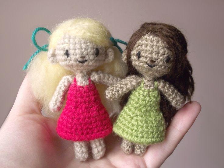 How To Make Crochet Amigurumi Patterns : 1855 best images about Amigurumi dolls on Pinterest