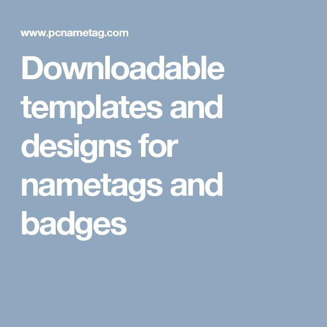 183 best conference badges images on pinterest. Black Bedroom Furniture Sets. Home Design Ideas