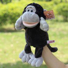 Hot Koop Orang-oetan Pluche Marionet Pop Vroege Educatief Speelgoed Handpoppen Hot Speelgoed Geschenken Voor Baby Kids(China (Mainland))