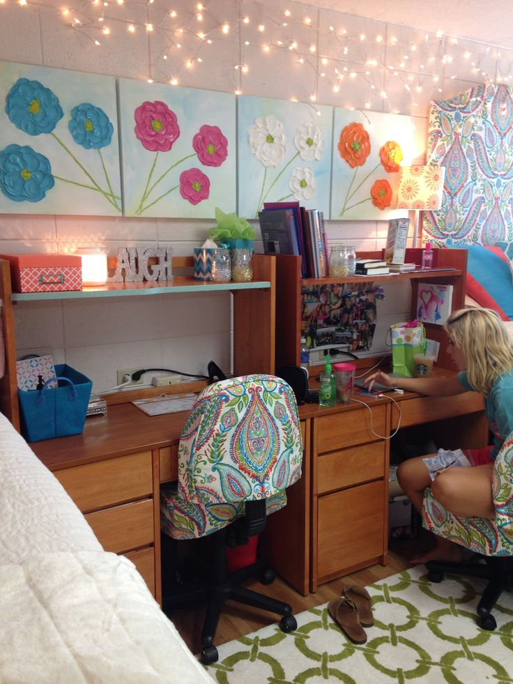Our dorm at the University of Arkansas!