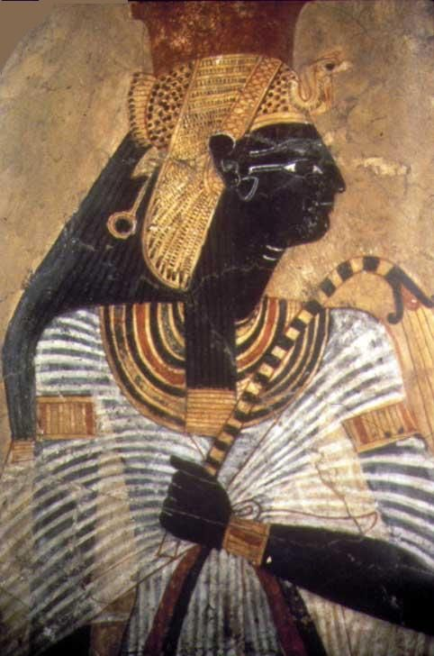 Egyptian Queen Ahmose Nefertari was of true Nubian royal lineage through her Ethiopian father, and ruled Egypt at the start of the 18th Dynasty, 1550 to 1525 BCE.