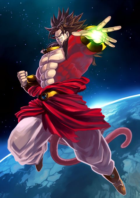 Death death to all who oppose him the legendary supper - Broly dragon ball gt ...