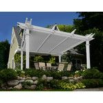 New England Arbors Mirage 8 Ft. W x 8 Ft. D Pergola & Reviews | Wayfair