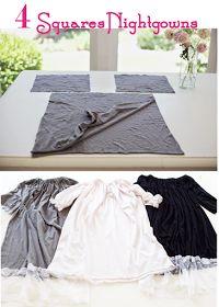 4 Square PJs  http://www.doityourselfdivas.com/2014/07/diy-4-squares-nightgown.html?m=1