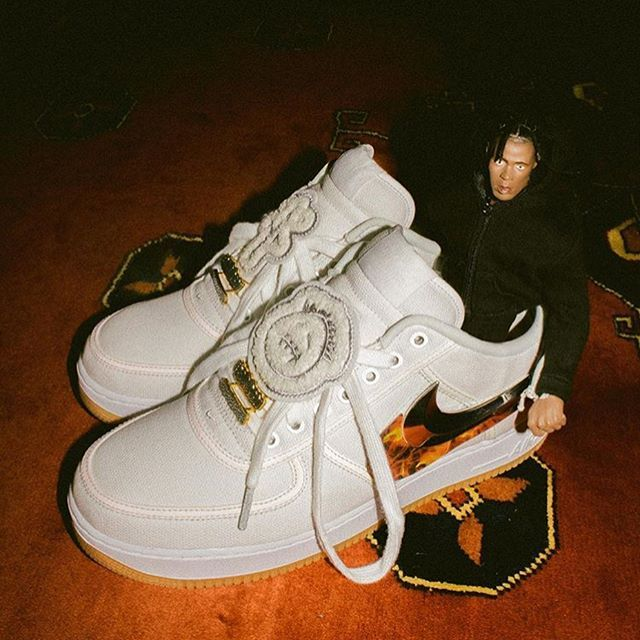 newest 52e69 5e6e3 Travis Scott just released his third album  astroworld The Nike x Travis  Scott Air Force 1  Sail  is rumored to release just one week after his  album.