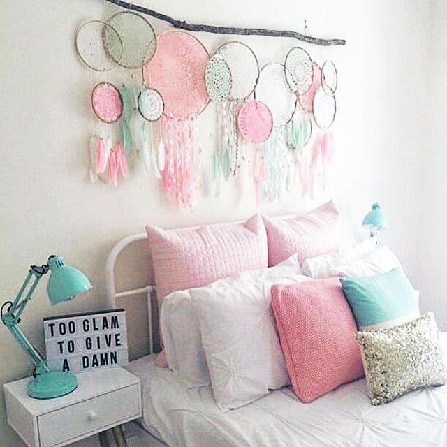 24 Wall Decor Ideas For Girls Rooms Diy Girls Bedroom Bedroom Wall Decor Above Bed Wall Decor Bedroom