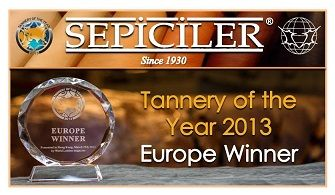 Tannery of the year 2013  EUROPE WINNER