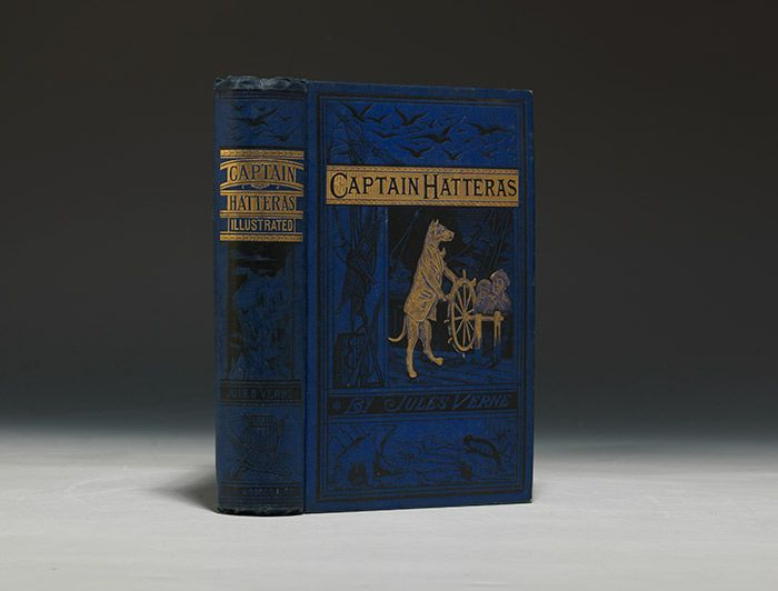 First American edition of Captain Hatteras, 1875 (BRB 90145)