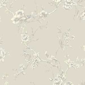 Opera Chinoise Wallpaper - Taupe