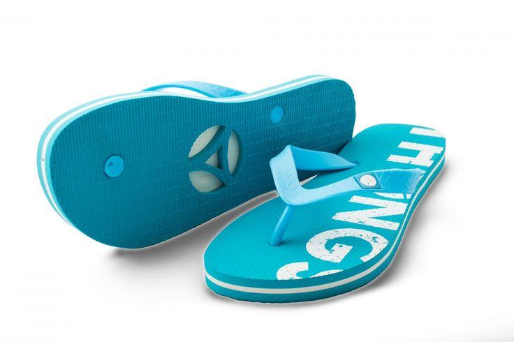 Thongs ladies specific aqua Flip Flops