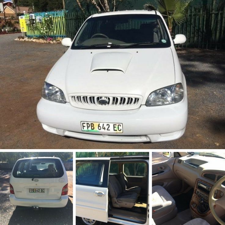 Good Running Condition 2001 Kia Carnival 2.5 V6 AT in our showroom AT 15 Lyttelton Road, Centurion for ONLY R 55 900 Call Christo 064 534 7643 / 0126601097.